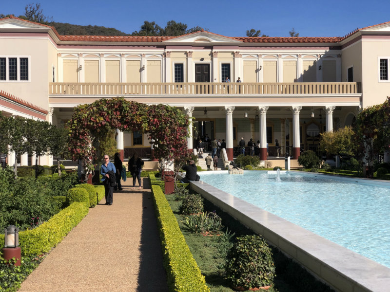Malibu Getty Villa